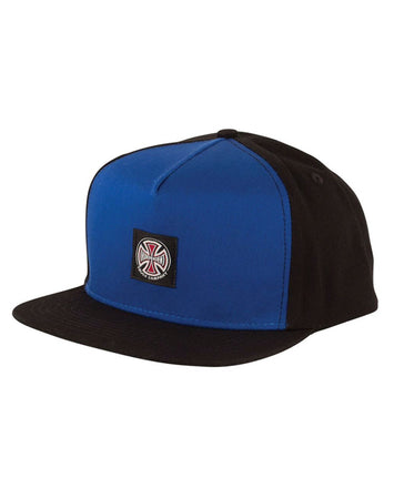 "Independent - Gorro Snapback ""T/C"" Blue/Black"