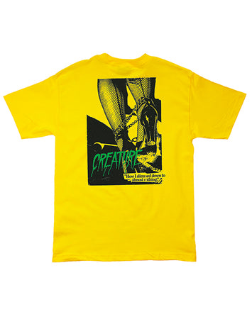 "Creature - Polera ""Nothing"" Yellow"