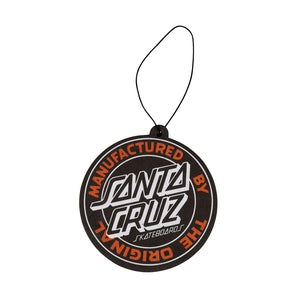 Santa Cruz - Aromatizador de auto MFG Dot Air Freshener - Black