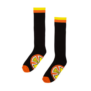 Independent -  Calcetines Chroma Tall Socks Black w/Orange (9-11us)