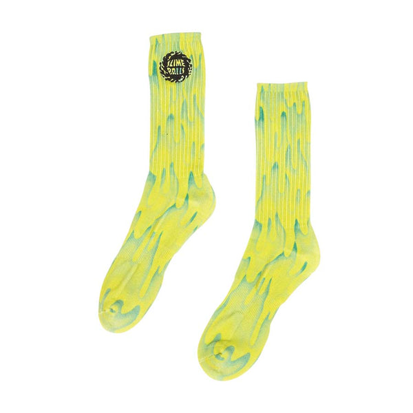 Slime Balls - Calcetines Slimers Lime Green 9-11
