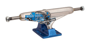 Independent - Trucks 139 Forged Hollow (Perforados) Chris Joslin Silver Blue