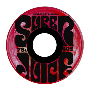 OJ -  Ruedas Super Juice Trans Red 78a - 60mm