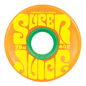 OJ -  Ruedas Super Juice Citrus 78a - 60mm