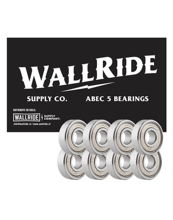 Wallride – Rodamientos Abec 5 Chrome Steel
