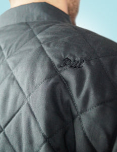Pill - Chaqueta Diamond Quilt - Charcoal Black (2271886999611)