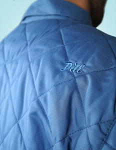 Pill - Chaqueta Diamond Quilt - Denim Blue (2271893225531)