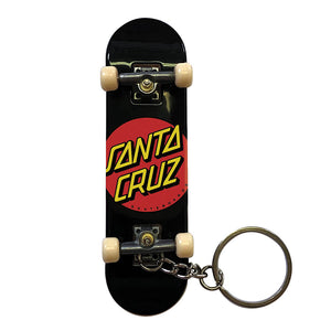 Santa Cruz - Llavero Classic Dot Finger Board Black
