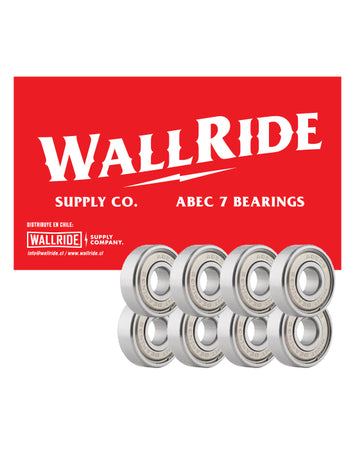Wallride – Rodamientos Abec 7 Chrome Steel