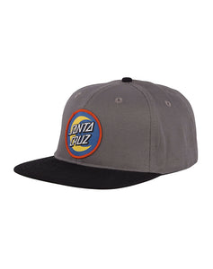 "Santa Cruz - Gorro Snapback ""Moon Dot Badge"" Dark Grey/Black (1489407705147)"