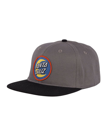 Santa Cruz - Moon Dot Badge Dark Grey/Black