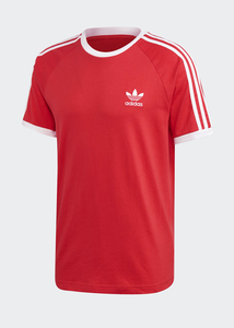 adidas - Polera 3STRIPES RED
