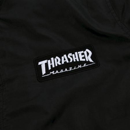 Thrasher - BOMBER JACKET Black