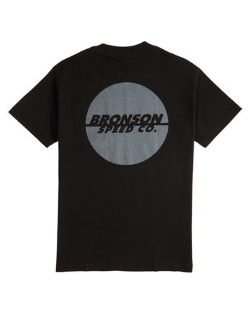 "Bronson - Polera ""One Color Spot Pocket"" Black"