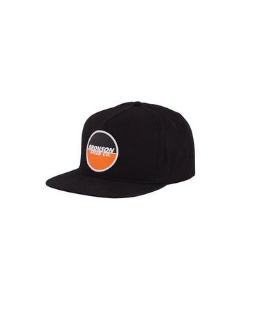 Bronson - Snapback Adjustable Bronson Spot Logo Black