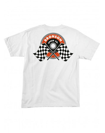 "Bronson - Polera ""Winners Circle"" White"