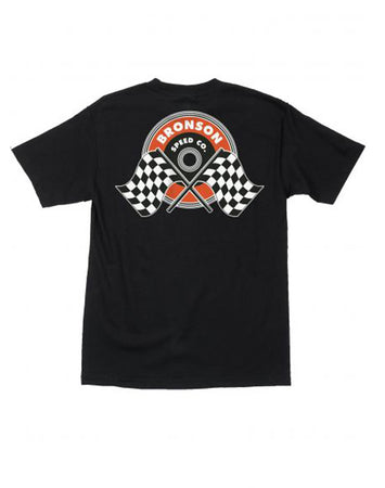 "Bronson - Polera ""Winners Circle"" Black"