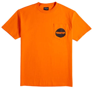 "Bronson - Polera ""One Color Spot Pocket"" Orange (4171310792763)"