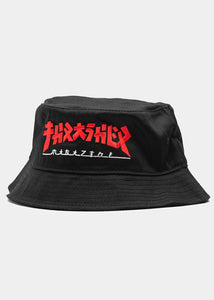 Thrasher - Bucket Godzilla Black