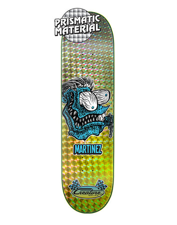 "Creature - Martinez ""Chain Fink"" Prismatic 8.375 x 32 + lija Iron"