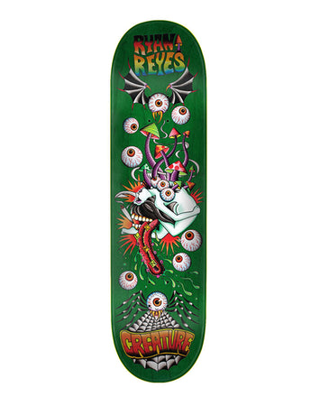"Creature - Reyes ""Upside Downer"" 8.2 x 31.9 + Lija Iron"