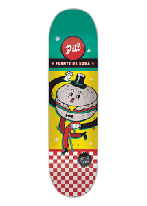 Pill – Churrasco Italiano 8.0 x 31.75 + lija Iron