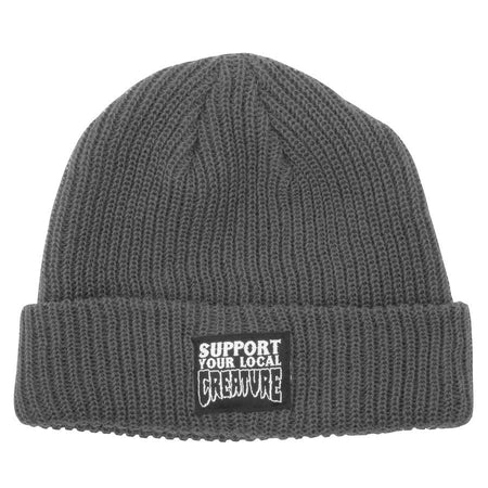 "Creature - Gorro Beanie ""Support Long Shoreman"" Charcoal"
