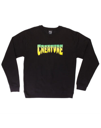 "Creature - Polerón Polo ""Logo"" Black"