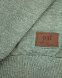 "Pill – Polerón Polo ""Stay Free"" Crew Olive"