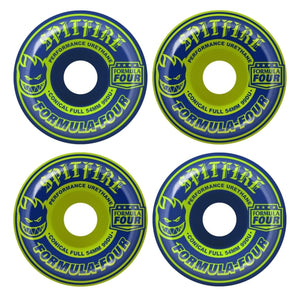 Spitfire - Ruedas F4 99 NVY/LIM MASH UPS CONICAL FULL 54mm