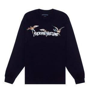 Fucking Awesome - Polera Manga Larga Angel Stamp Black
