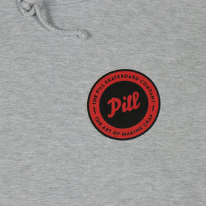 Pill - Poleron Canguro Seal Grey Heather