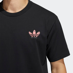 adidas - Polera HENRY JONES PUSH TEE Black GL9981