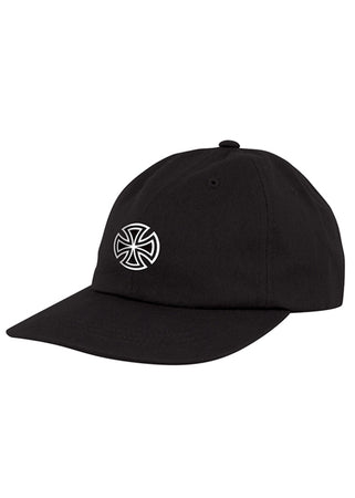 Independent - Gorro Snapback GSD Cross Unstructured Low Hat - Black
