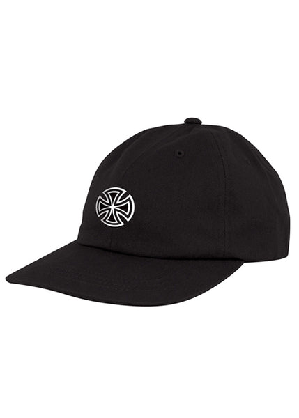 Independent - Gorro Snapback GSD Cross Unstructured Low Hat - Black (2299613937723)