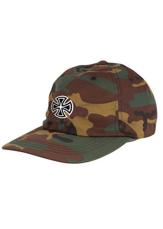 Independent - Gorro Snapback GSD Cross Unstructured Low Hat - Camo