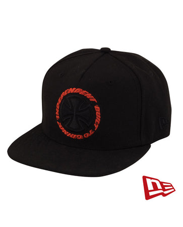 "Independent - Gorro Snapback New Era 59 Fifty ""Speed Kills"" Black"