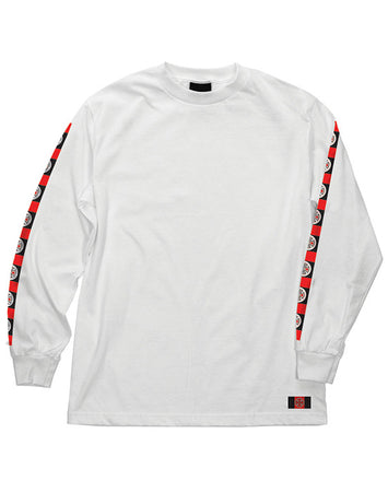 "Independent - Polera Manga Larga ""Banner"" White"