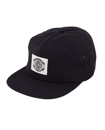 "Independent - Gorro Snapback ""Anytime Label"" Black"