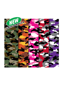 MOB grip  - Camo 5 Pack Grip Tape - 9 x 33