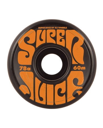 OJ - Ruedas Super Juice Black 60mm - 78a