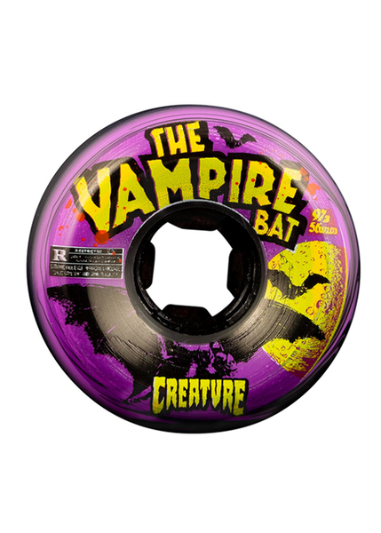 OJ - Ruedas Vampire Bat Bloodsuckers Black Purple Swirl 97a - 56mm
