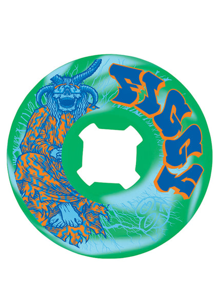 OJ - Ruedas Figgy Lightning Original Blue Green Swirl HRD EDGE 101a 54mm (2299549876283)