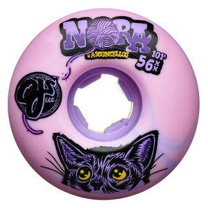 OJ -  Ruedas Nora Vasconcellos Elite Pink Purple Swirl EZ EDGE 56mm 101a