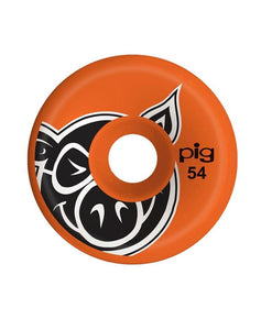 Pig Wheels – Head Orange C-LINE 54mm (1489366122555)