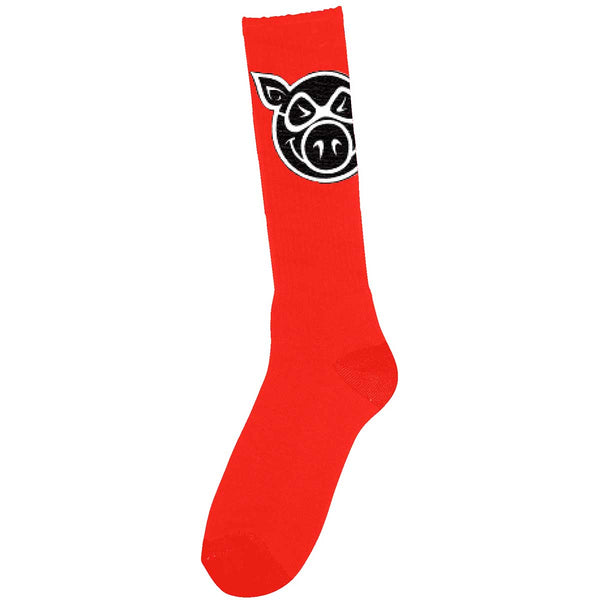 Pig - Calcetines Head Tall Red SOCPG0001