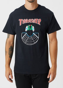 Thrasher - Polera Doubles Black (4164747034683)