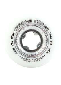 Ricta - Ruedas Chrome Core Silver Wide 101a - 54mm