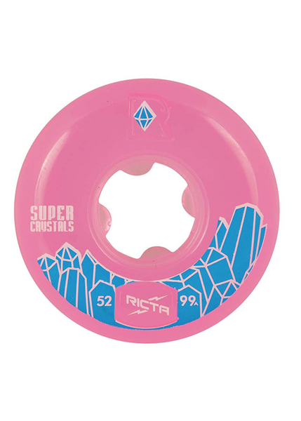 Ricta - Ruedas Super Crystals Fuschia 99a - 52MM