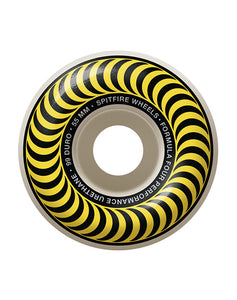 Spitfire - 55 mm Formula Four 101D Classic Yellow (4170656841787)